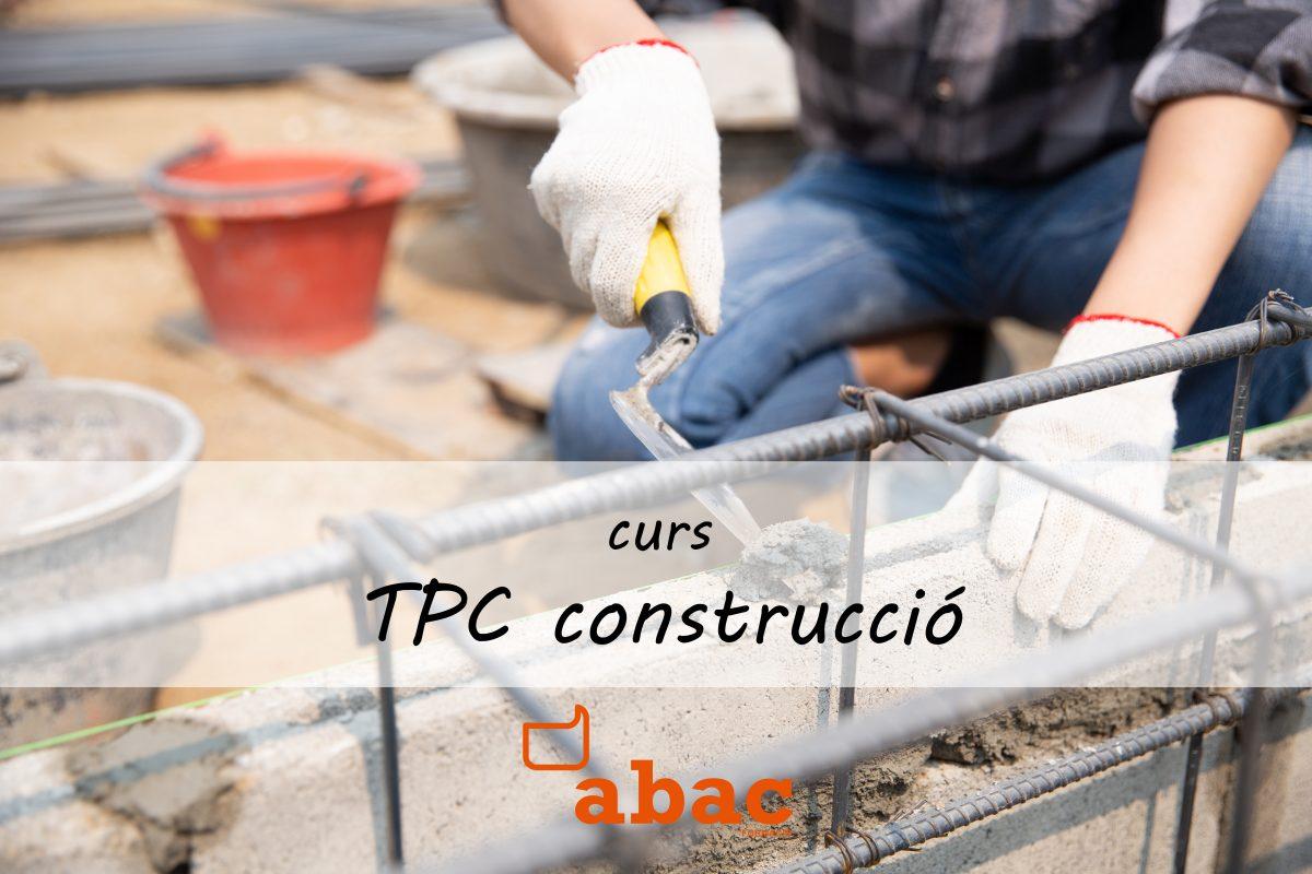 TPC curs de 20 hores de la construcció