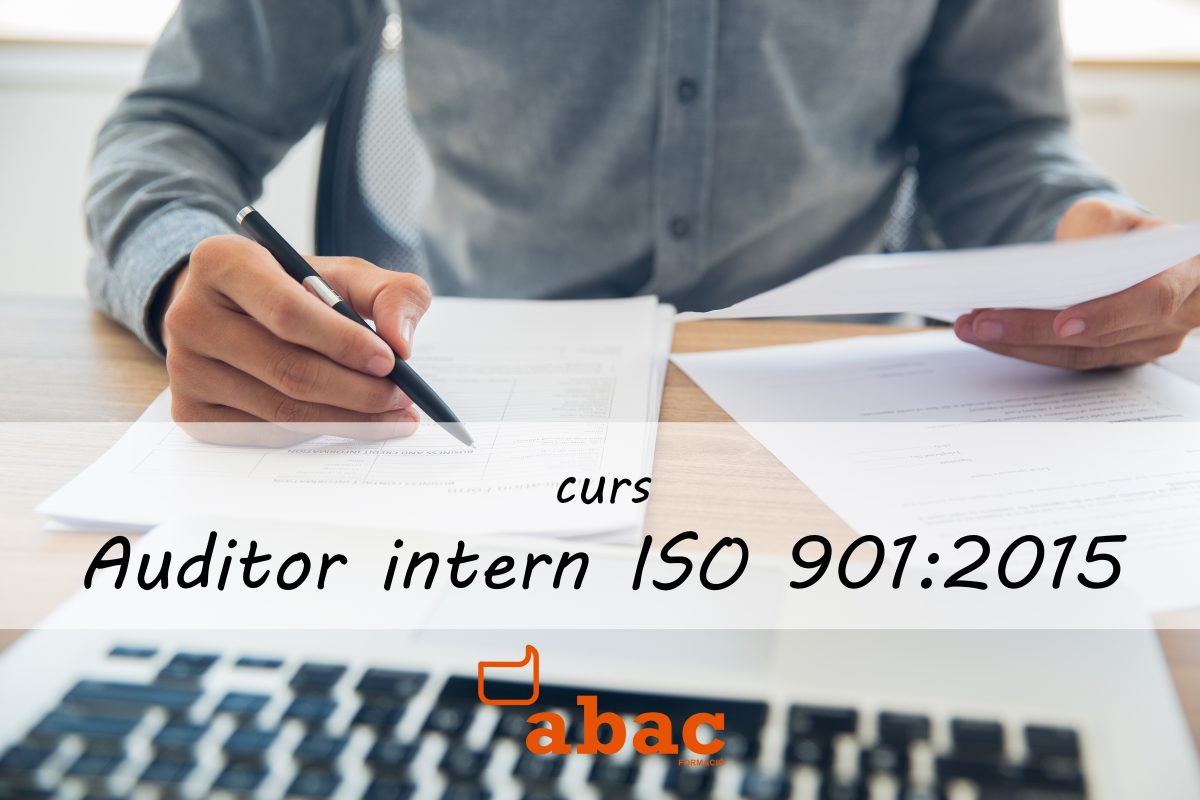 Auditor Intern ISO 9001:2015